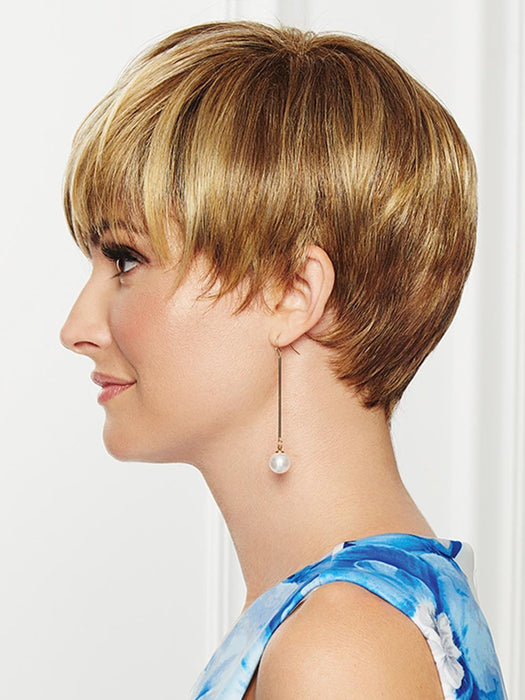 Gives tapered sides and nape for longer lengths