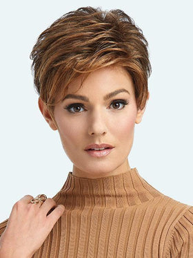 ADVANCED FRENCH by RAQUEL WELCH in RL8/29 HAZELNUT | Medium Brown With Ginger Red Highlights