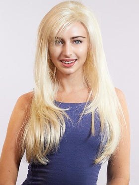 PAULINA by LOUIS FERRE in 22/102 PLATINUM BLONDE | Light Blonde and Ice Blonde Blended in Platinum Tone