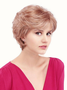 APRIL by Louis Ferre in 27/22 STRAWBERRY BLONDE | Light Blonde Blended w. Light Brown & Red Highlights