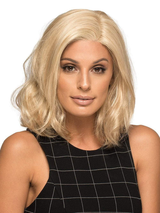 CHLOE by ENVY MEDIUM BLONDE | Soft Golden Blonde with Champagne Blonde highlights