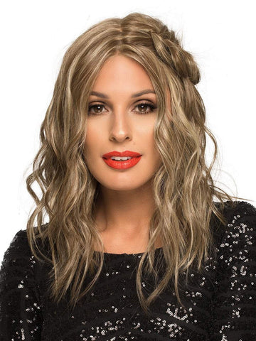 Chelsea | Human Hair/ Synthetic Blend Wig (Mono Top) | 40% OFF