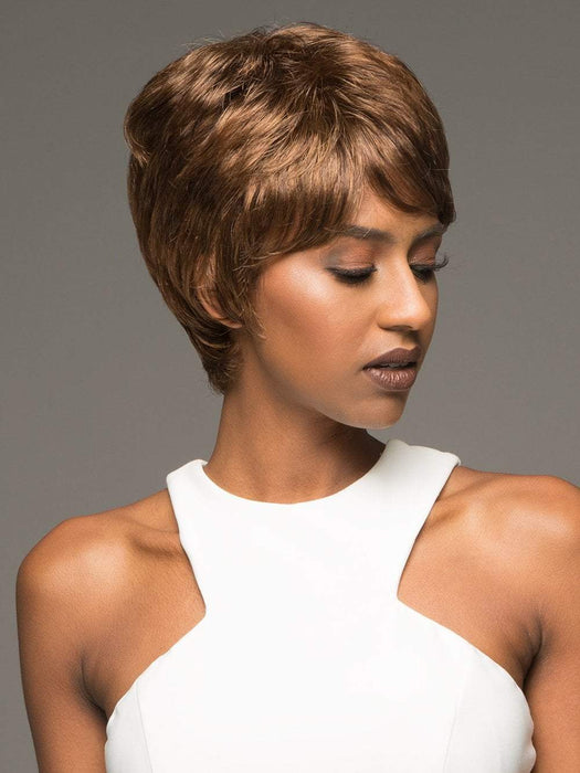 AMY by VIVICA FOX in P4/27/30 | Piano Color. Medium Dark Brown, Honey Blonde, and Copper Blonde