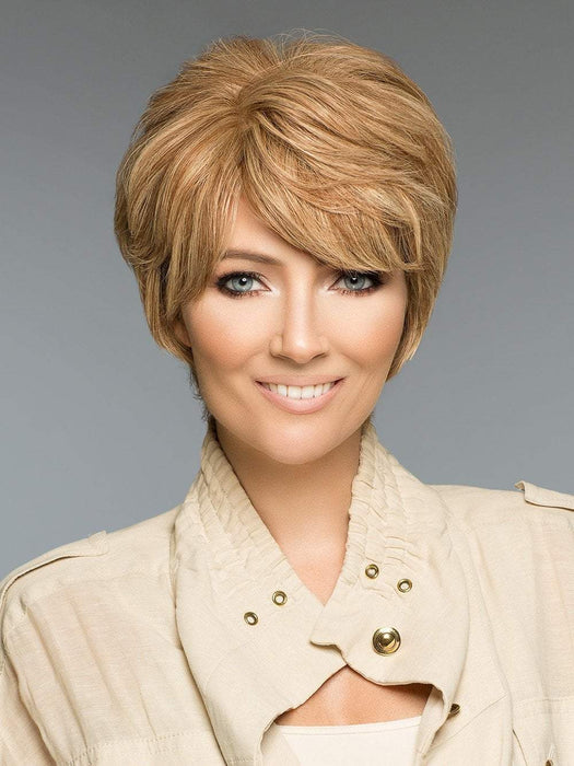 PETITE LORI H-MONO by WIG PRO in 6/30T | Medium Chestnut Brown tipped w/ Russet