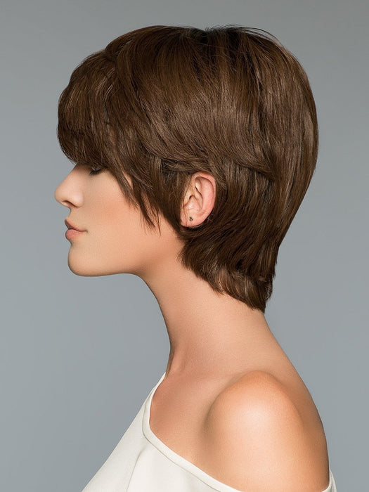 A fun petite pixie wig with loads of layers for multiple styling options.