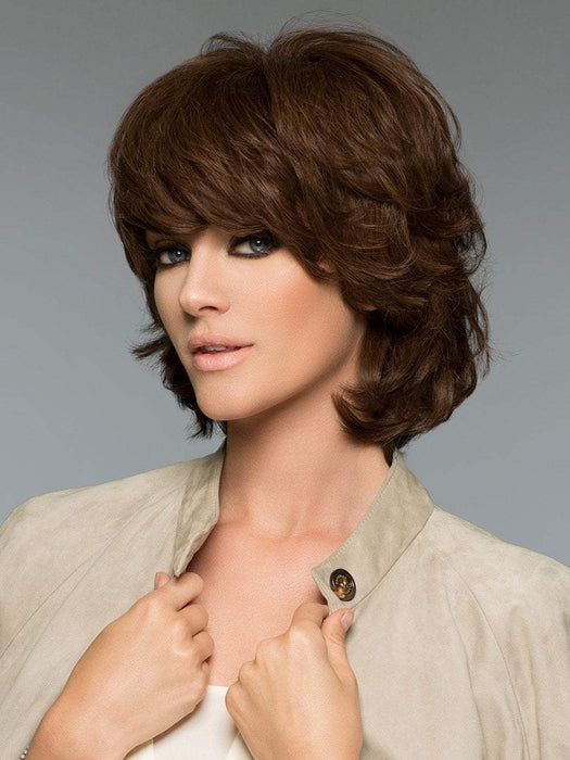Janet by Wig Pro in 6 | Medium Chestnut Brown