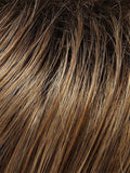 Color 10/26TTS4 Shaded Fortune=Caramel Blonde/Lt Brown Blend, Shaded w/ Dk Brown
