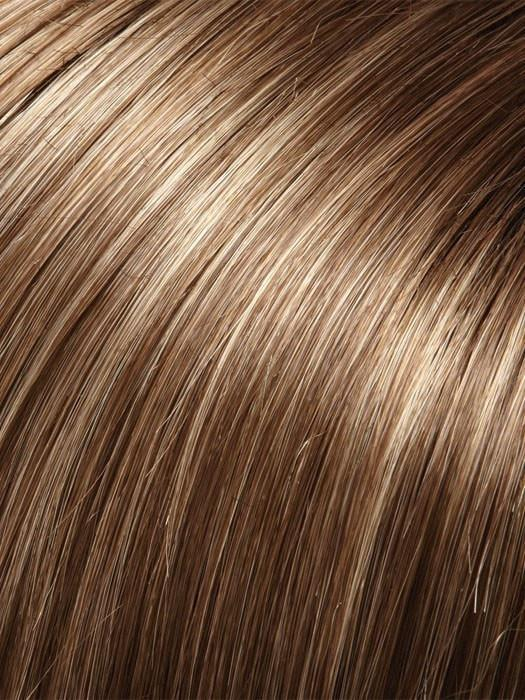 10RH16 ALMONDINE | Light Brown with 33% Ash Blonde Highlights