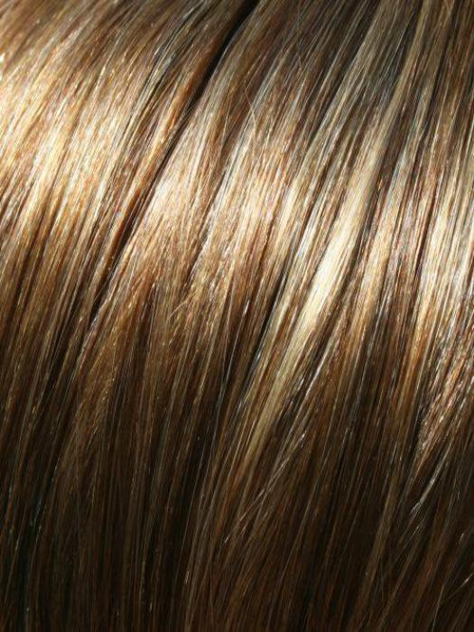 10H24B – Light Brown with 20% Light Gold Blonde Highlights
