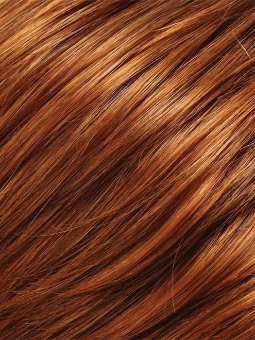 130/28 | PUMPKIN SPICE | Medium Red and Light Natural Red Blonde Blend