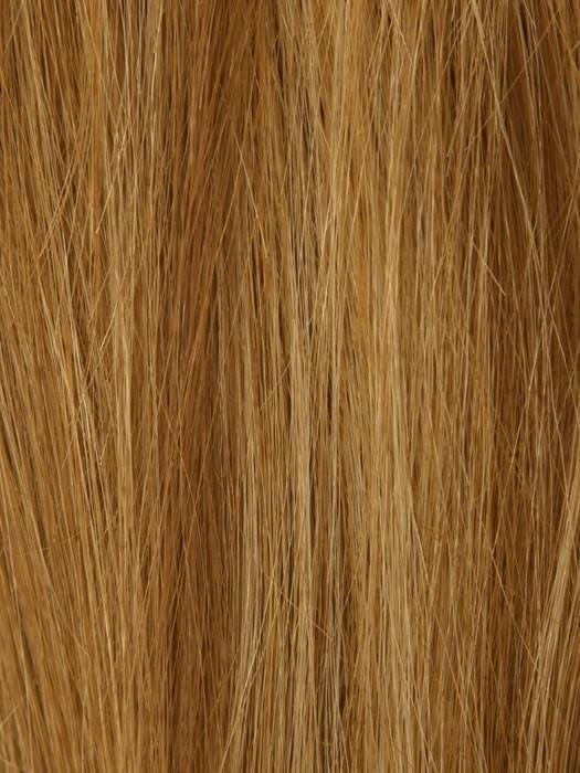 140/28 GINGER BLONDE | Golden Blonde Blended w. Medium Red Tones