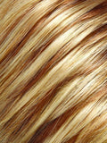 14/26 PRALINES N CREAM  | Medium Natural Gold Brown and Light Red-Gold Blonde Blend with Pale Natural Blonde Highlights