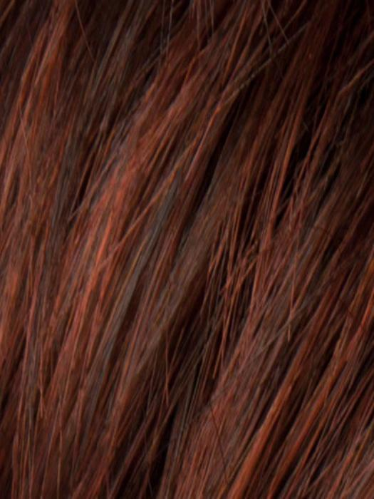 WINE RED ROOTED | Dark Auburn ,blended with Fox red and Dark espresso Brown