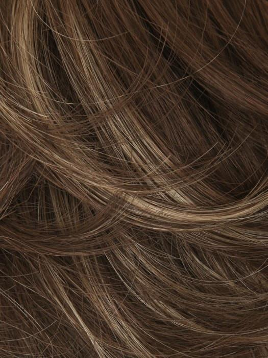 16HL10 10 BASE 16 HIGHLIGHT | Ash Brown Mix with Honey Blonde Highlight