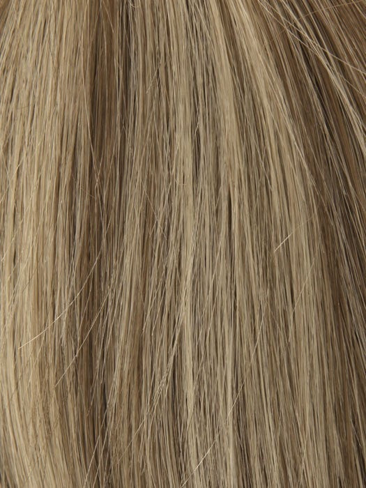 Color 18/22 = Sunny Blond Brown	Ash Blond Blended w. Sunny Blond Tones