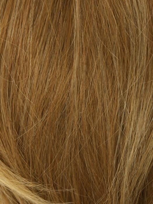 2026H GLAZED APRICOT | Blonde with Light Red Highlight Blend