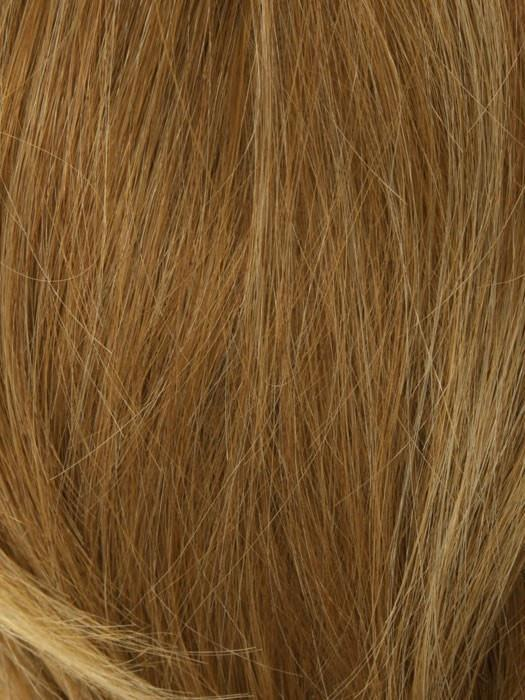 2026H GLAZED APRICOT | Blonde w. Light Red Highlight Blend