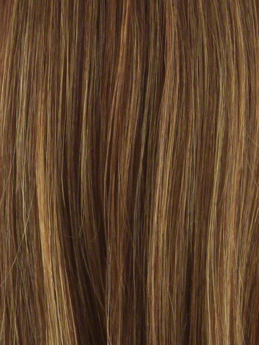 Color 2400H = AUBURN / DARK STRAWBERRY BLONDE & FIRE RED HIGHLIGHTS