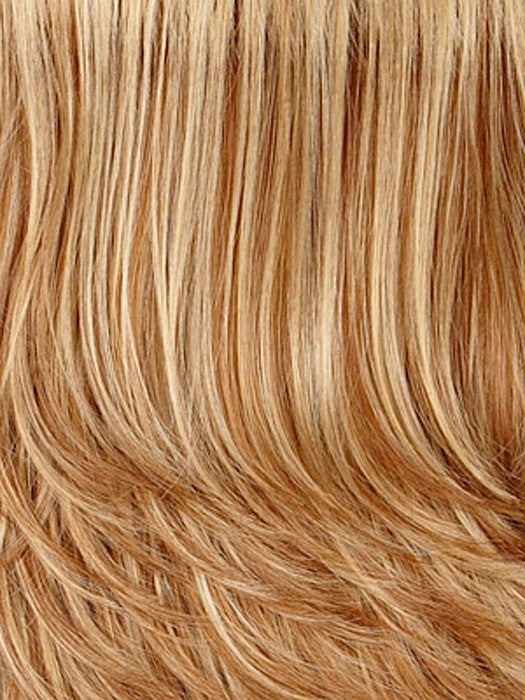 Color 27/26 H = GOLD BLONDE WITH GLAZED STRAWBERRY BLONDE HIGHLIGHTS