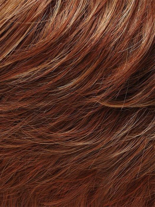 27MBF APPLE PIE | Dark Red-Gold Blonde with Medium Red Nape-DISCONTINUED COLOR
