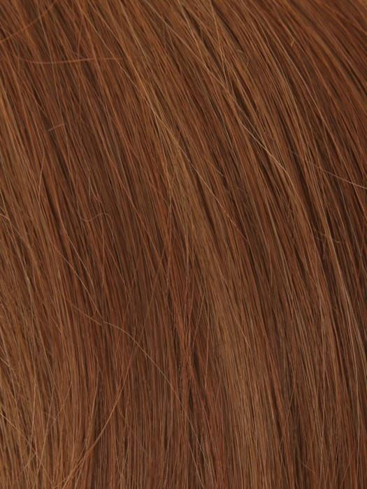 30/27F AUBURN MIST | Medium Auburn with Light Brown and Red Highlights