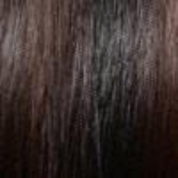 30M | Medium Auburn Streak Front and Top on Darkest Brown and Medium Brown Base
