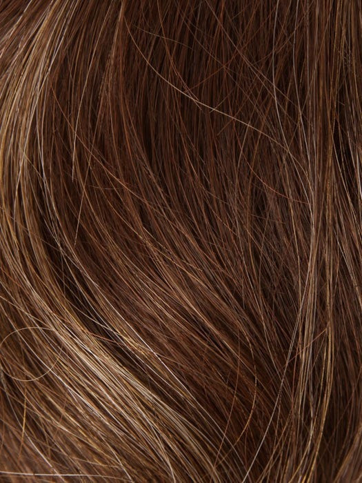 6/28 GINGER HIGHLIGHT | Dark Brown and Warm Dark Red Highlight Tones