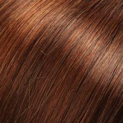 33RH29 Nutmeg - Medium Natural Red w/33% Light Red-Golden Blonde Highlights