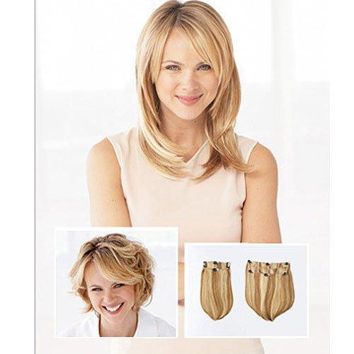 2pc Synthetic Clip-In Straight Extensions | CLEARANCE