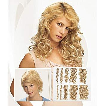 "18"" 10 Piece Synthetic Clip In Extensions 