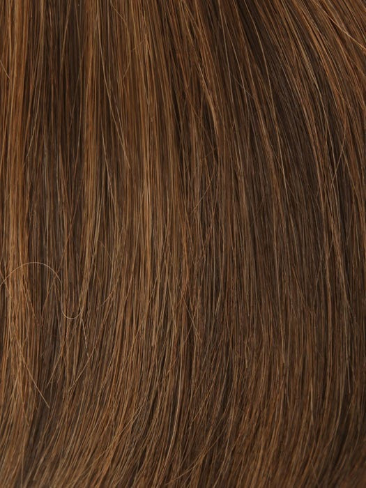 Color 6/30H = Chocolate Copper: Dark Brown w/ soft coppery highlights