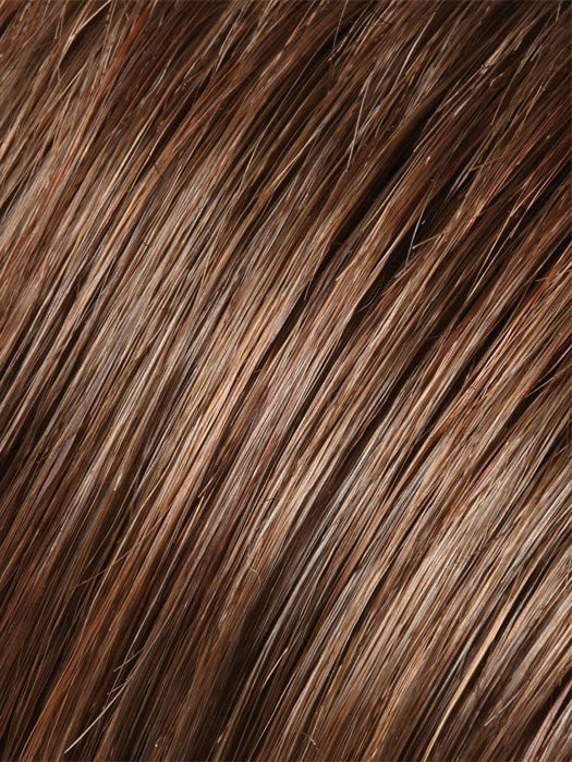 Color 8/30 = Cocoa Twist: Med Brown & Golden Red Blend | Isabella by Jon Renau