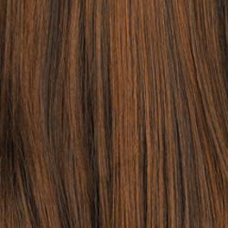6H Chestnut Brown with Auburn Highlights