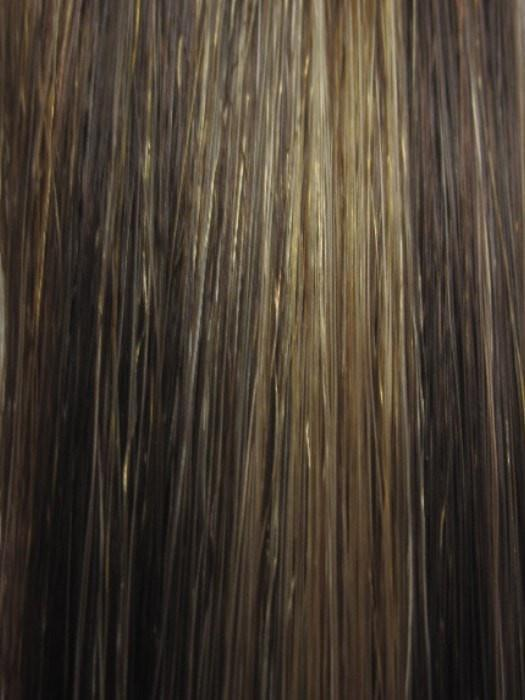 8H27HL24B | 3 Tone highlight of Light Chestnut Brown, Strawberry Blonde and Butterscotch Cream Blonde