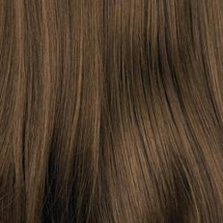 8H Medium Brown with Golden Brown Highlights