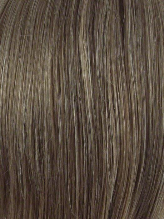 ALMOND-BREEZE | Light Brown blended with Ash Blonde