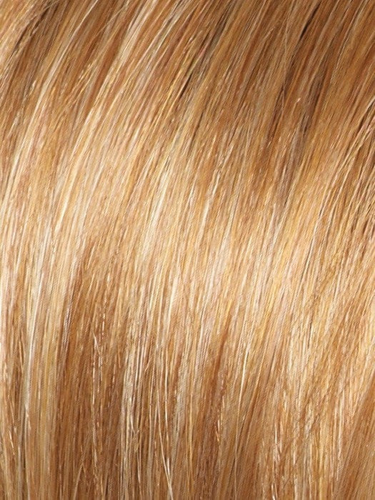 Color Apricot-Frost = Bright Copper base with a Strawberry Blonde highlight