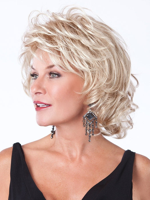 ALLURING WIG by Toni Brattin in Light Blonde | Light ash blonde, Swedish blonde or blonde highlighted by the sun