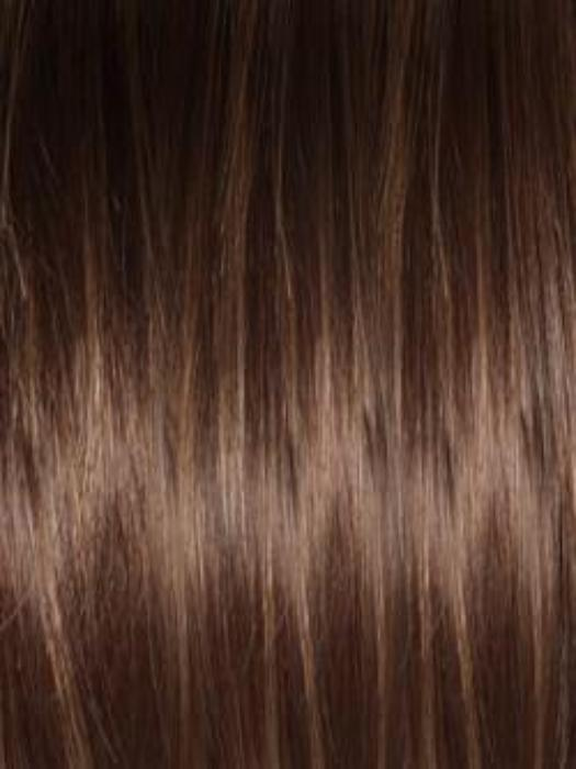 AUBURN SUGAR R | Rooted Dark with a Medium Auburn base with a Dark Strawberry Blonde highlight