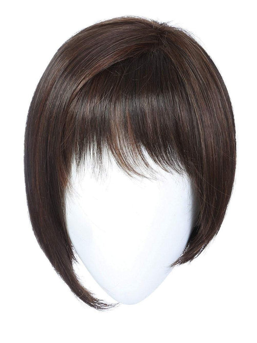 A asymmetrical short wig