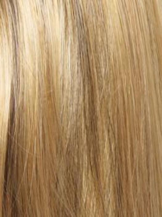 BUTTER PECAN | Gold Blond base with 50/50 of Dark and Light brown highlights
