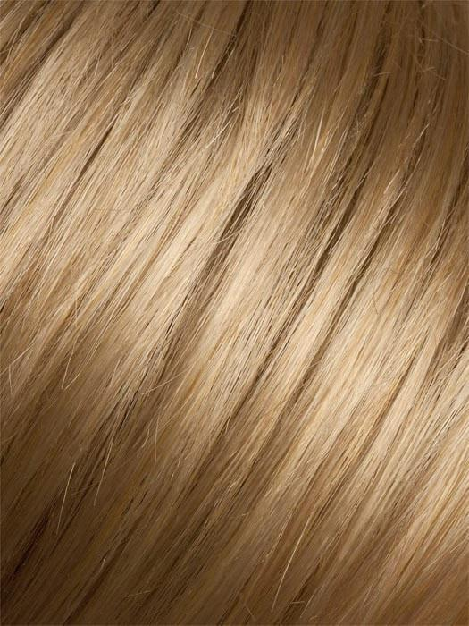 CARAMEL LIGHTED | Dark Honey Blonde base with Gold Blonde highlights on the top only, darker nape