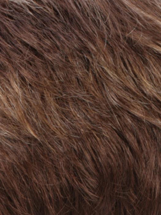 RMCARMKISS | Golden Brown with Light Copper Blonde Highlights