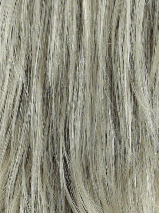 Color Champagne = Rooted Dark with Platinum Blonde
