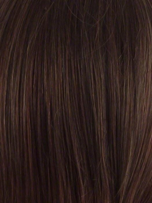 Color Cinnamon-Raisn = Medium brown with auburn low lights and cinnamon highlights