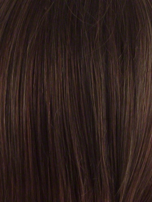 Color Cinnamon-Raisin: Medium brown with auburn lolights and cinnamon highlights