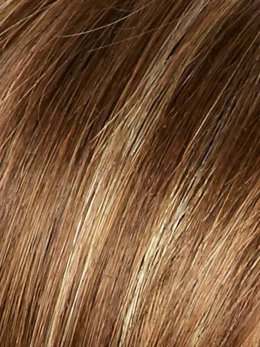 COCONUT SPICE | Light Auburn Base with Honey Blonde Highlights