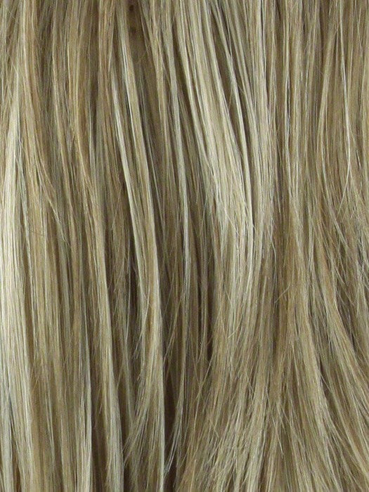 Color Creamy-Toffee R = Rooted Dark with Light Platinum Blonde and Light Honey Blonde 50/50 blend
