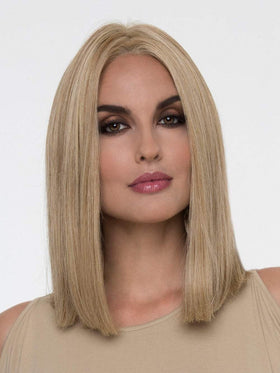 CHELSEA Wig by ENVY MEDIUM BLONDE | Soft Golden Blonde with Champagne Blonde highlights