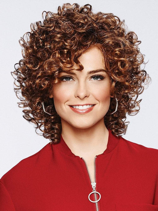 CURL APPEAL by Gabor in GL8-29 HAZELNUT | Coffee Brown with Soft Ginger Highlights